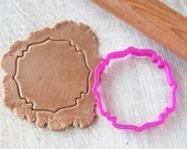Plaque cookie cutter #11