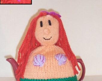 Mermaid Tea Cosy Knitting Pattern