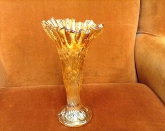 Carnival Gold Vase