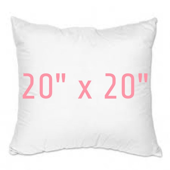 Throw Pillow Inserts 20 X 20 : Pillow Insert 20 x 20 Throw Pillow Form 100% Polyester by byROWE