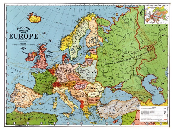 carte europe haute definition