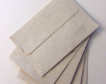 Envelopes handcrafted made of Mulberry Papar - size 4.5x6.5 inches (Set of 20)