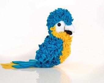 Proggy®  Mat Blue Parrot Rag Rugging Kit