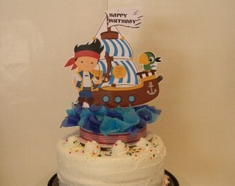 Pirate Cake Topper