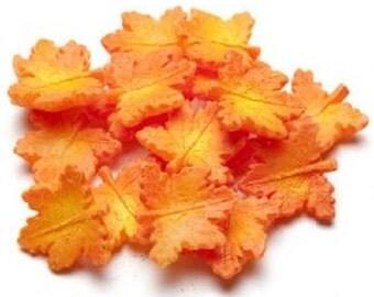 Fall Maple Leaf 4 oz. Fake Food Wax Embeds