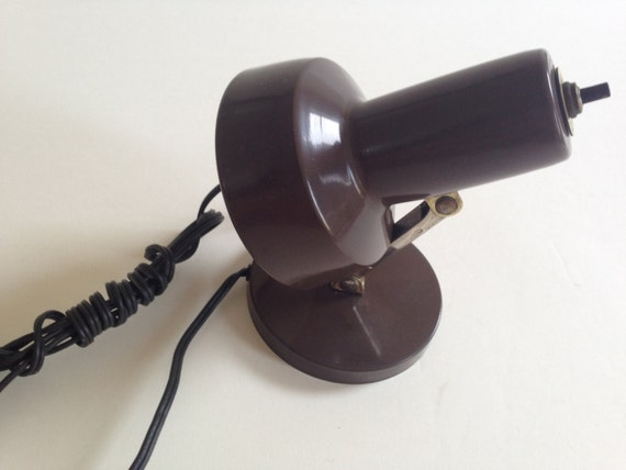Items Similar To Tensor Desk Bed Side Lamp Chocolate Brown