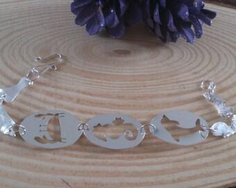 Sterling Silver Sea Theme Bracelet