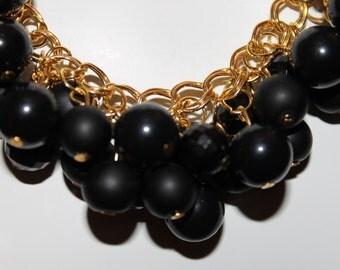 Bead Necklace Black, Bead Jewelry Black, Bead Necklace Black, Necklaces Beaded Black