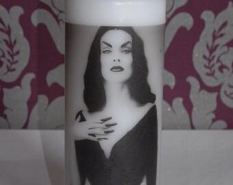 Vampira - Scented Pillar Candle