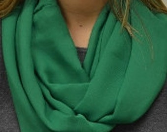 Green Infinity Scarf - 53881