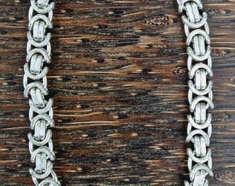 Vintage Sterling Silver Italian Bracelet