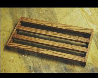 Oak Pedalboard