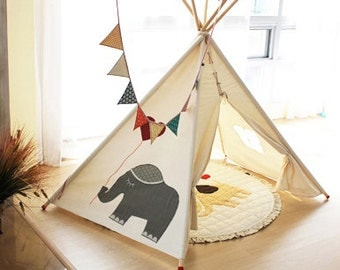 SOABE elephant teepee kids teepee play tent Indian tent teepee tent & SOABE Simple Indian tent teepee tent kids toy children toy