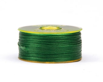 Nymogarn ø 0.15 mm x 44.5 m, * green |. Extremely tear-resistant bead yarn for thread work - NY2515
