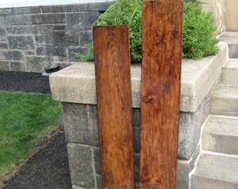 Reclaimed Wood Rustic Shelves