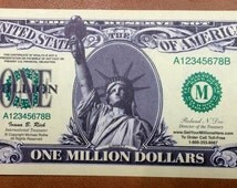 One Million Dollar Novelty Bill