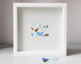 I Treasure You- Sea Glass Painting