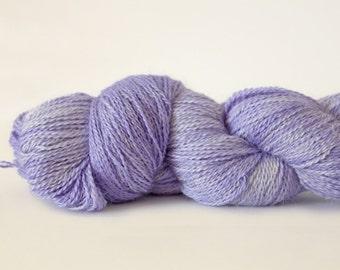 Malabrigo Silkpaca Lace, baby alpaca lace yarn with silk, silk and alpaca yarn, incredibly soft and warm laceweight yarn, hand dyed