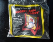 McDonald's Happy Meal Toy Raggedy Ann 1989