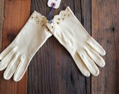 Yellow Wear Right Gloves Made in Western Germany