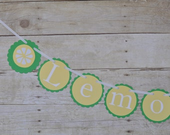 Green and Yellow Lemonade Stand Sign/Banner, Party decor, Summer decor, Photo Prop, Lemonade Birthday party decor