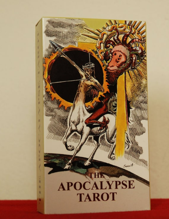 Tarot Deck Tarot Of The Apocalypse Cards Full By