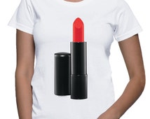 Red Lipstick T-shirt (14-034)