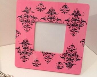 Pink Shabby chic Frame