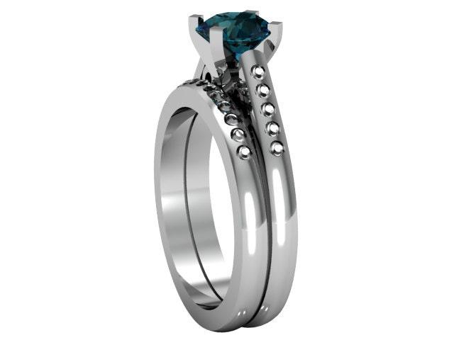 14k white gold alexandrite ring alexandrite ring by