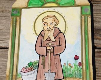 Retablo of Saint Fiacre