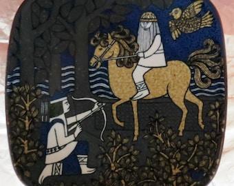 Arabia of Finland, Kalevala annual wall plate 1982