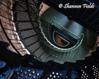 Spiral Staircase - Corolla Lighthouse, North Carolina