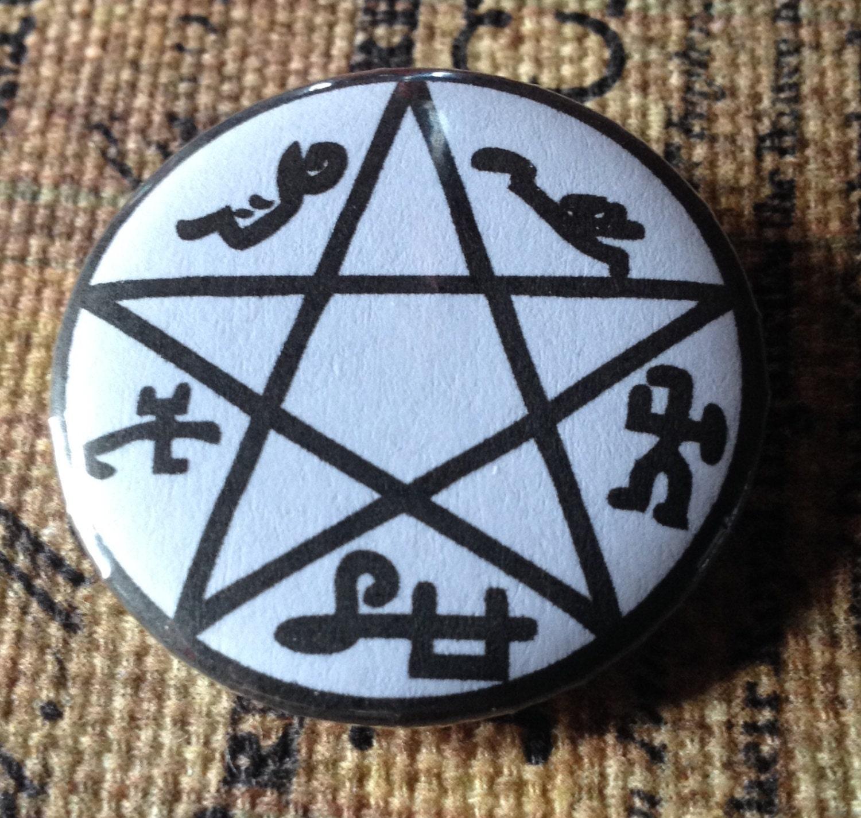 125 inch supernatural symbol sigil button devils trap angel 125 inch supernatural symbol sigil button devils trap angel banishing or anti possession biocorpaavc Images
