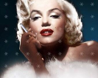 Marilyn Monroe Hollywood Movie Star Fabric Block MM425