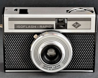 Agfa Isoflash-Rapid 35mm w Isinar Lens Germany Outstanding Original Condition