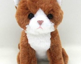 Kityu Gifts Plush Brown Kitten
