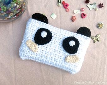 Kawaii Panda 3DS, 3DS XL Sleeve // Case // Cozy