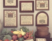 A Shaker Sampling Leaflet for Counted Cross Stitch- #10L