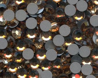 2028 SS20 LCT*** Swarovski rhinestones flat back SS20 (4mm70) light colorado topaz*** x20