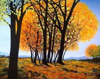 Original Painting - 'Autumn Vignette'