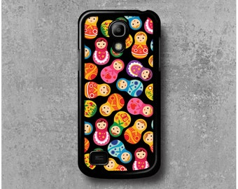 Samsung Galaxy S4 Mini Case Black Russian Dolls Matryoshka + Free Worldwide Shipping