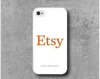 Case iPhone 4 / 4s with Logo Wear Company + website URL - Free Delevery Worldwide