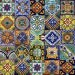 40 6x6 Mexican Ceramic Tiles