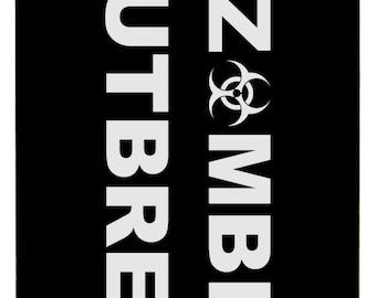 Molon Labe Luggage Tag - Zombie Outbreak Response Team