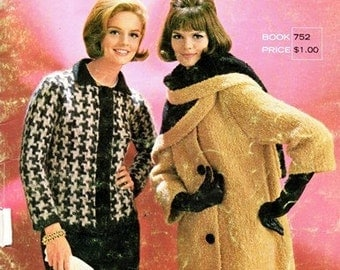 Columbia Minerva Book 752 Mohair Elegance Fashions / ca. 1960's