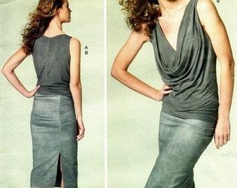 Vogue 1282 Sizzling Tight Top & Skirt 2012 / SZ4-12 UNCUT