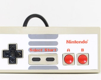 WHITE CLASSIC Custom NES Controller Cover - Cover Only (controller not included)