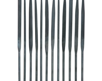Diamond Needle File Set 10pc Jewelers Metal Glass Hobby Tool NEW FREE SHIPPING!