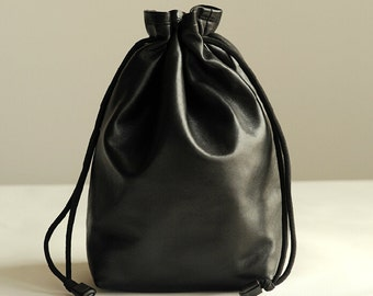 Handmade Canon Camera Bag, Leather Camera Bag, Leather Bag