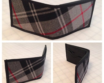 Moffat Plaid Scottish Tartan men's bifold wallet